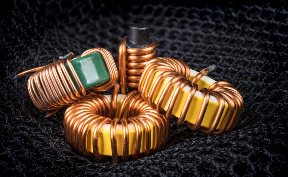 Several coils of wire